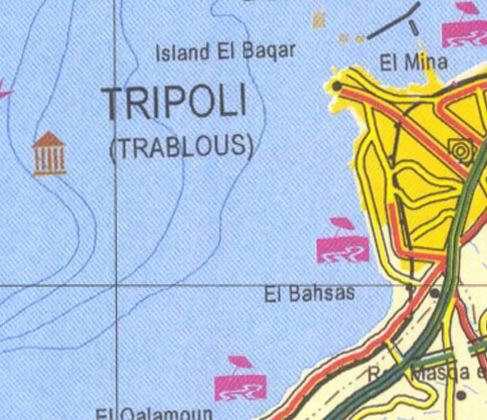 maps of lebanon. Maps of Lebanon, Location and