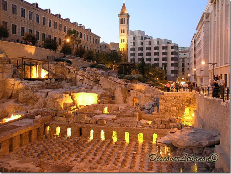Beirut -Roman baths