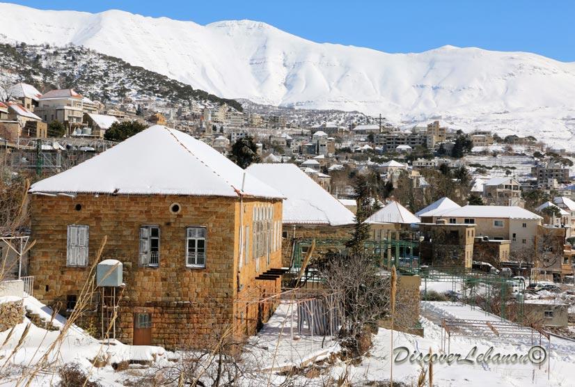 Discover Lebanon Image Gallery / Lebanon under snow ...