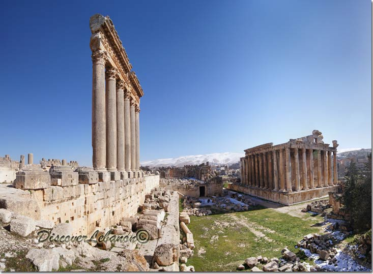 Discover Lebanon Image Gallery / Monuments / Baalbeck shinning