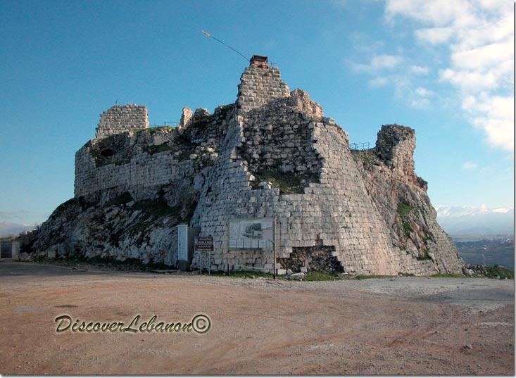 Arnoun, Beaufort Citadel Shkif