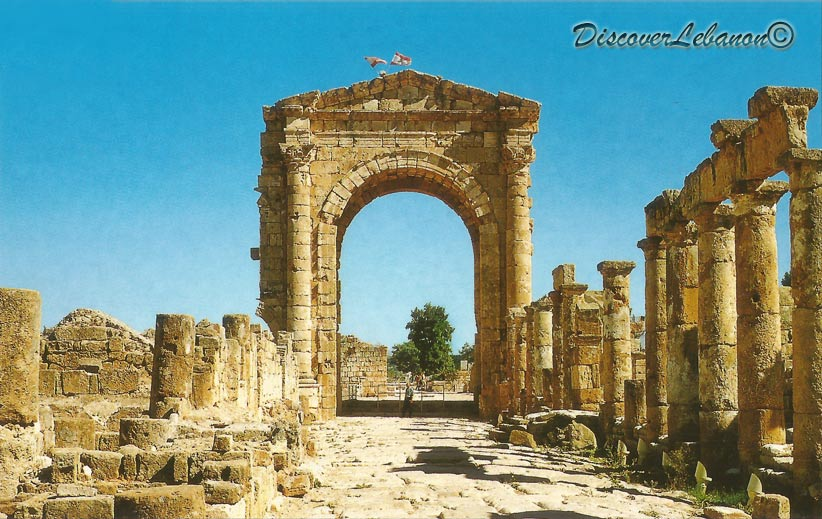 discover lebanon image gallery monuments tyr