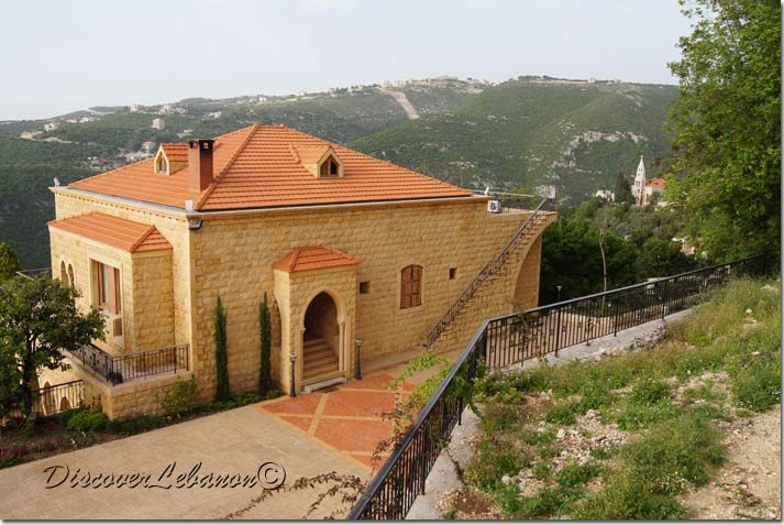 Discover Lebanon Image Gallery Old Houses Villa House Fghal